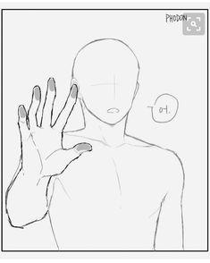 Resultado de imagem para molde de corpo de anime
