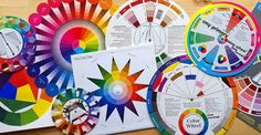 Color wheels are used by all kinds of creative people working with color, including quilters. Wondering how to use one? This is the series for you!