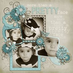 Adorable framed photos of a little girl #scrapbook #page #layout. I like to scrap at the Retreat in Oklahoma!  Http://scrapnparadise.webs.com