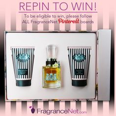 Re-pin! After we reach 3,000 Pinterest followers, we'll award this product to ONE lucky pinner who Repinned to WIN. Make sure to Follow ALLof FragranceNet.com boards to be eligible.