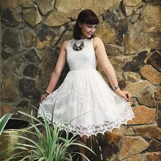 Pina Lace Dress #Anthropologie #MyAnthroPhoto