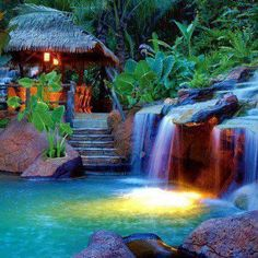 Arenal Fortuna Springs and Spa in Costa Rica.