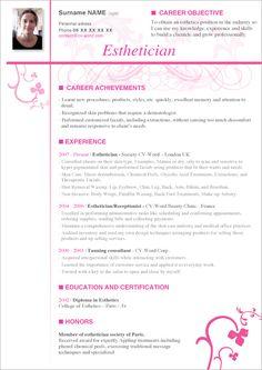Free Cosmetology Resume Sample  HttpJobresumesampleCom