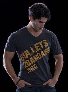 Bullets2Bandages V-Neck