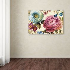 Victorias Dream III by Lisa Audit Painting Print on Wrapped Canvas