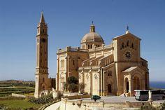 Greetings from Ta´ Pinu Basilica in Gozo... #Malta #Gozo #travelling #holiday #Tomasinternational