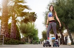 BIONIC FOR YOUR BODY!  The Powerslide Phuzion Bionic Women fitness inline skate is a must have softboot for fitness enthusiast & female skaters who are looking for something special with its stylish knitted textile upper designs & 3 big wheels.