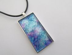 Abstract Art Pendant by pattimacs on Etsy