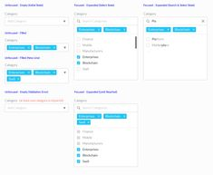 Multi select dropdown tags field with search on Behance Form Design, Tag Design, Ui Components, Ui Patterns, Filter Design, Social Link, Tile Projects, Ui Design Inspiration, Ui Web
