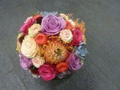 Fall Wedding Flower Bouqet #multicolor  Flower by http://www.blumenprinz.ch/ #Dietikon #Switzerland