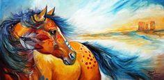 НАША СТРАНА МАСТЕРОВ: Картины лошадей