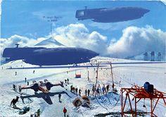 Last Ski Run by Franco Brambilla, via Flickr