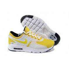 sports shoes d134e bc194 Women Nike Air Max Zero Qs Shoes Yellow White Nike Shoes Online, Buy Nike  Shoes