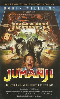 Jumanji - Roll The Dice and Unleash The Excitement - Movie Novelisation by Todd