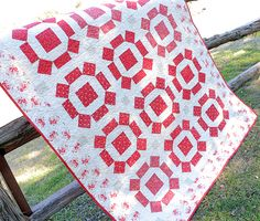 Classic & Vintage featuring Rolling Stone Quilt Pattern - Fat Quarter Shop's Jolly Jabber