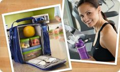 Rubbermaid LunchBlox™ stack compactly to save space and stay organized in your lunch bag.