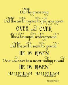 Free printable - He is Risen!