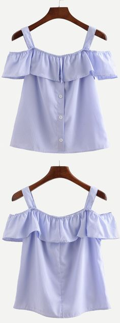 Cute Blouse - Off the shoulder is the most fashionable item in this summer. Searching more amazing clothing at romwe.com