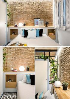 Un pequeño apartamento en Barcelona rediseñado en 42 metros cuadrados - FRACTAL estudio + arquitectura