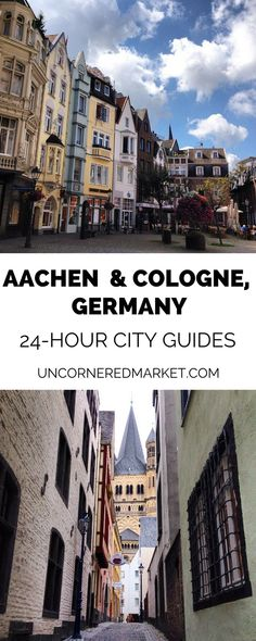 What to do, see and eat in Aachen, Cologne and in nearby Rhinelane. Includes 24-hour city guides for Aachen and Cologne, plus recommendations for side trips to UNESCO sites like Zollverein and Augustusburg Palace. Perfect for a weekend getaway or short city break in Germany. | Uncornered Market Travel Blog   #germany #unesco #cityguide #traveltips