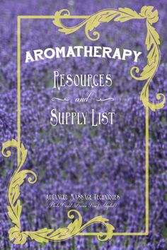 Aromatherapy Resourc