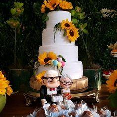 TOPO DE BOLO UP ALTAS AVENTURAS no Elo7 | Ateliê Juliana Louback (7B98AF) Wedding Wishes Quotes, Carl Y Ellie, Wish Quotes, Pastel, Bride, Heart, Cake, Wedding Wishes, Pie Wedding Cake
