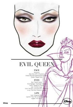 MAC Evil Queen makeup palette. She was the villain from Snow White.