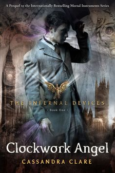 I started the whole series with this book, and I loved it. Steampunk, psuedo-victorian, angels, vampires, werewolves, warlocks and London.  Good alternative to Twilight. Young-Adult.