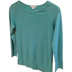 Pre-owned James Perse Classic Raglan Sweatshirt ($53) ❤ liked on Polyvore