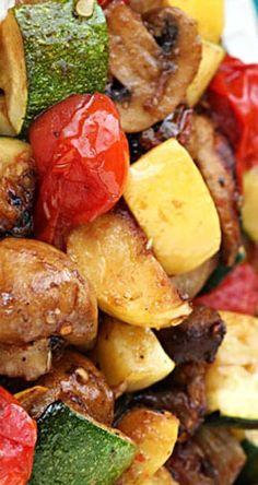Easy Grilled Vegetables | gimmesomeoven.com