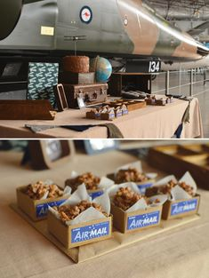 Rustic airplane | ... > Kids Birthday > Parties for Boys > Rustic & Vintage Aviation Party