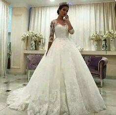 Imagem de dress, wedding, and wedding dress