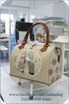 www.facebook.com/zadinabag Japanese Patchwork, Japanese Quilts, Patchwork Bags, Japanese Bag, Quilted Handbags, Canvas Handbags, Quilted Bag, Quilt Storage, Vanity Bag