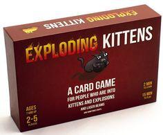 Exploding Kittens - Game Night Idea