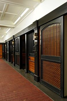 Horse Stalls.. wonder if I would get talked about if I had these stalls in my barn???I love this The Black WOW! love it