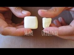 Fimo Vanilla - Mix Your Own Color Tutorial - for Desserts