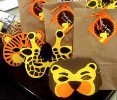 Printable Safari Birthday Party PDF by ChiquitaPB on Etsy #chiquitaparty
