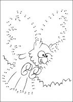Kids Under 7: Dot to dot worksheets. Part 3