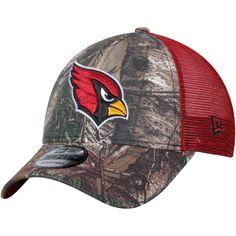 665c546f649 Arizona Cardinals New Era Trucker 9FORTY Adjustable Snapback Hat - Realtree  Camo Cardinal