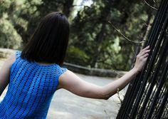 Handmade top by Nicole Karali  Knitwear