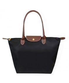 Women's Stylish Waterproof Tote Bag Nylon Travel Shoulder Beach Bags - Black - C912O7QX38X  #Bags #Handbags #Totebags #gifts #Style