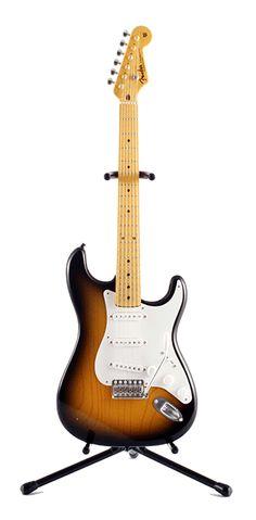 Amazing 1/8 scale Fender Guitars   FENDER THE GUITAR LEGEND - 1954 Stratocaster Sunburst