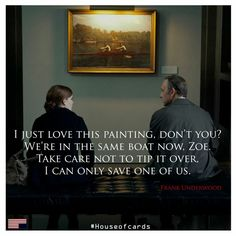 charming life pattern: house of cards - frank underwood - quote
