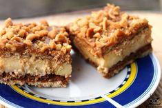 Ciasto krówka - bez pieczenia  to obłędnie pyszny deser. Szybkie w przygotowa... - #bez #ciasto #deser #krowka #obłędnie #pieczenia #przygotowa #pyszny #szybkie Sweet Cakes, Apple Pie, Lasagna, Food And Drink, Cooking Recipes, Sweets, Cookies, Baking, Ethnic Recipes