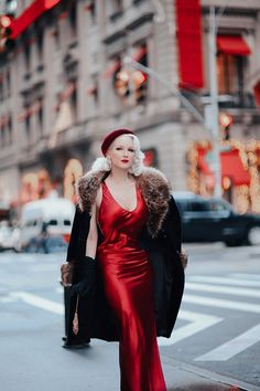 It's officially the most festive month of the year, and a perfect time to debut the red colorway of Secrets in Lace's f. Quirky Fashion, Retro Fashion, Vintage Fashion, Womens Fashion, Vintage Style, Pin Up Outfits, Classy Outfits, Sexy Outfits, Idda Van Munster