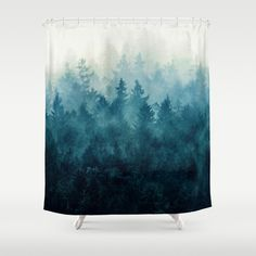 The Heart Of My Heart // So Far From Home Edit Shower Curtain from Society6. $68 (bought by Jessica's mom for birthday) SOOOO worth the cost!