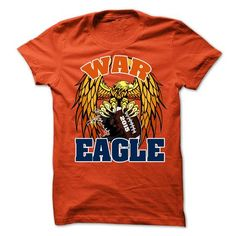 War Eagle T Shirts, Hoodies. Check Price ==► https://www.sunfrog.com/Sports/Limited-Edition-War-Eagle-2015-Tee-62172986-Guys.html?41382