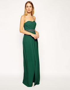 Green With Envy  10 Glamorous Green Bridesmaid Dresses Vestidos Largos 0e5aaa593ea3
