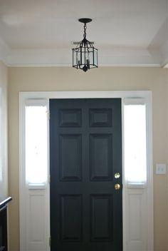 hmmm paint inside of front door black iu0027d paint