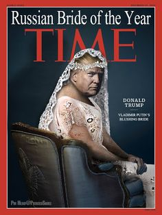 Wonder why Chump doesn't post this Time magazine cover? It's truer than the one he had faked. At least this one portrays Chump for what he really is, Putin's bitch. And bitch to special interests in coal, oil, the rich, and every possible group who's goal is to take as much as possible from the 99%.